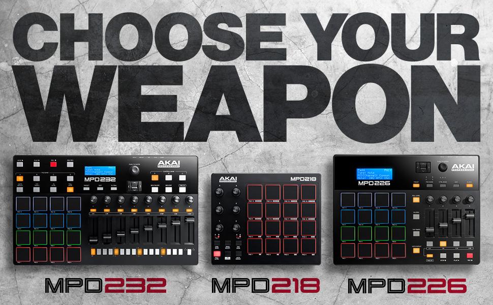 Akai prezentuje nowe kontrolery z serii MPD