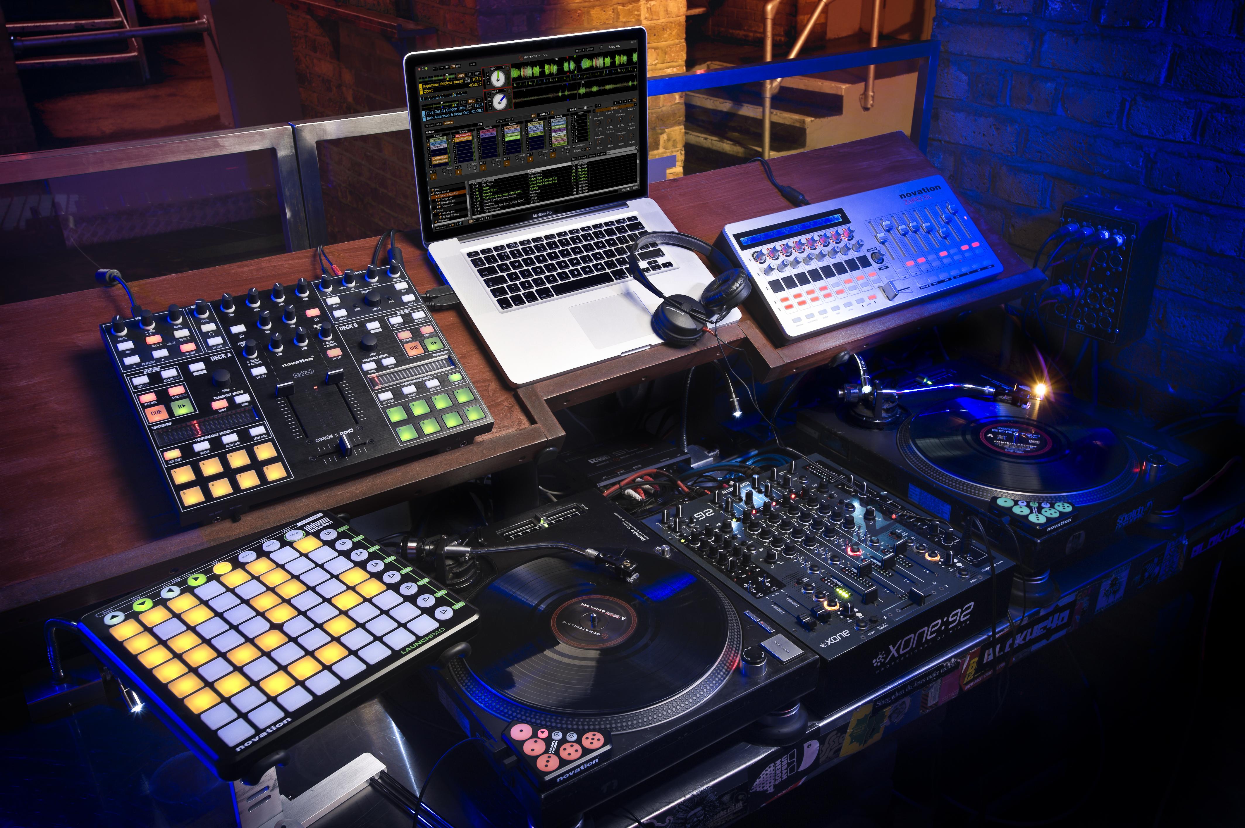 Novation DJ Setup