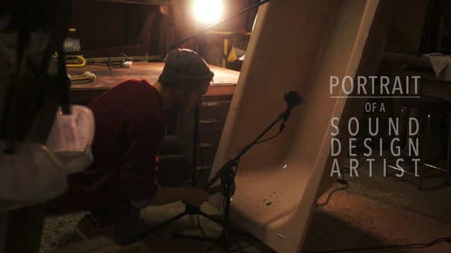 Portrait of a sound designer