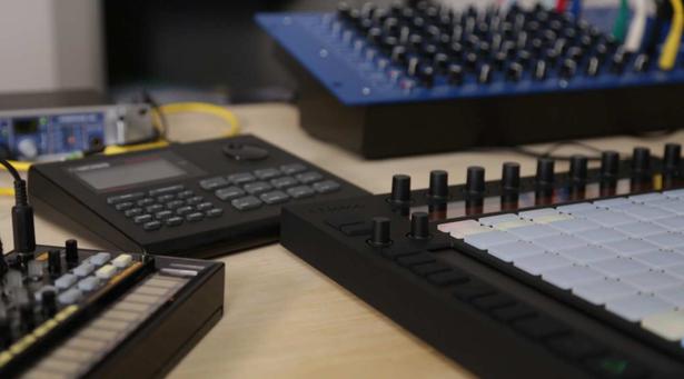 Ableton Push Drum Machines