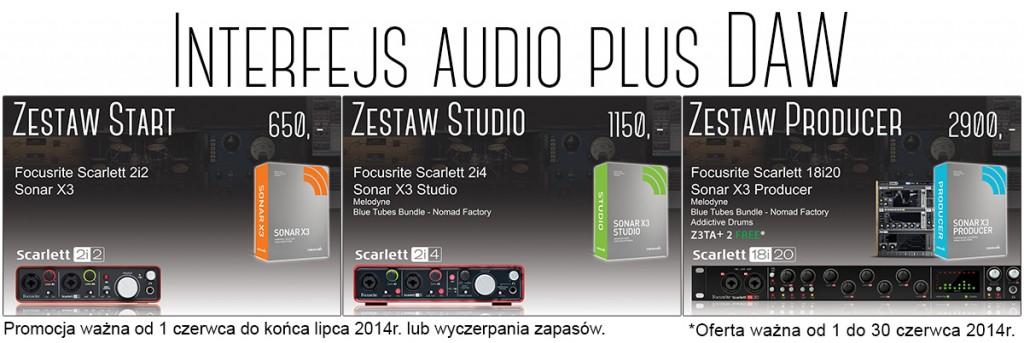 Audiotech Pro Zestawy Promocja
