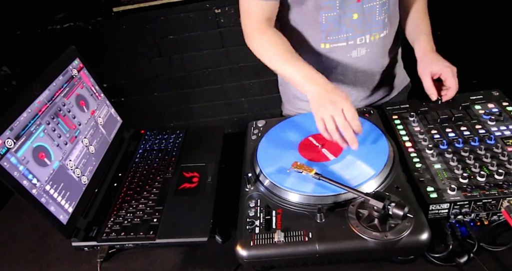 Virtual DJ 8 DVS