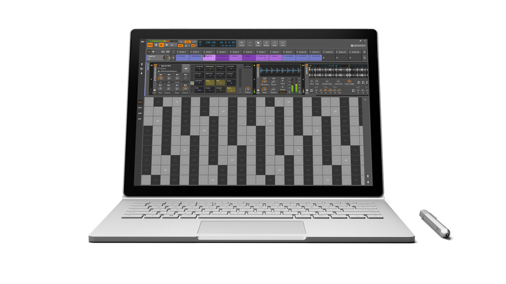 Surface-Book-Bitwig